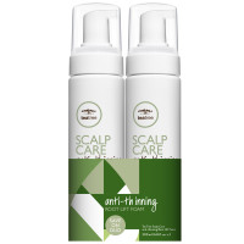 Paul Mitchell Tea Tree Scalp Care Anti-Thinning Root Lift Foam Duo 2x 200 ml